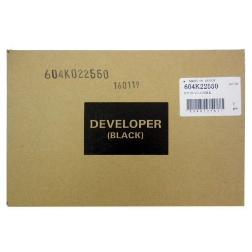 Xerox 604K22550 - DEVELOPER BLACK