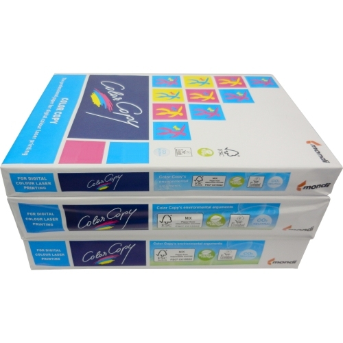 Papier do drukarek Color Copy SRA3, 250 g., biały, lekko satynowy, SG, ryza 125 ark.
