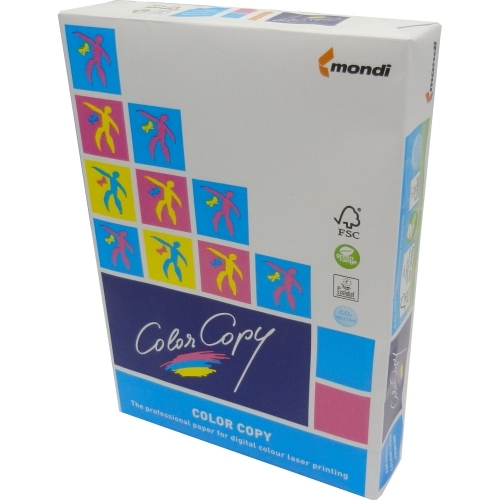 Papier do drukarek Color Copy SRA3, 400 g., biały, lekko satynowy, SG, ryza 125 ark.
