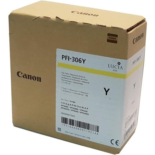 Canon PFI-306 Y - Wkład drukujący żółty (Yellow)