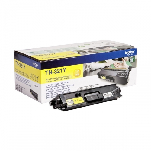 Brother TN321Y - Toner żółty (yellow)