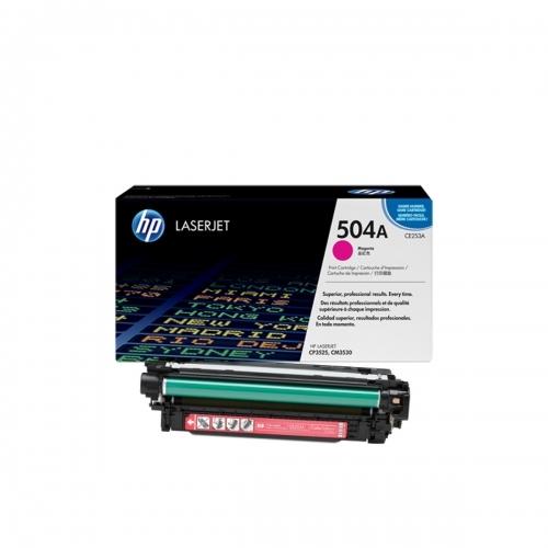 HP CE253A - Toner purpurowy (magenta)