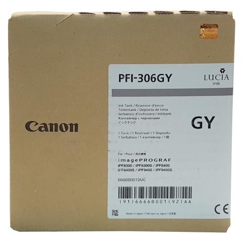Canon PFI-306 GY - Wkład drukujący szary (Grey)