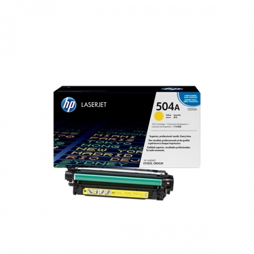 HP CE252A - Toner żółty (yellow)