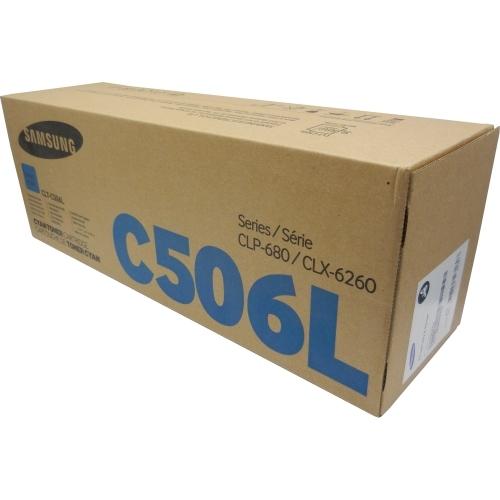 Samsung CLT-C506L/ELS - Toner błękitny (cyan)
