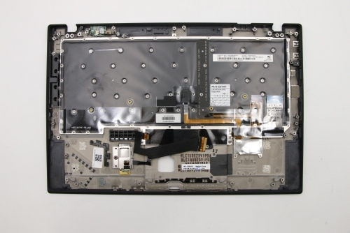 Lenovo 01LX510 - C-cover with keyboards, KBD,Bezel,USE,FPR,BK,CHY