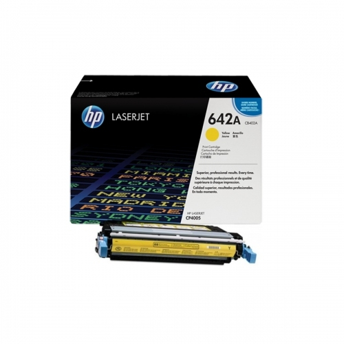 HP CB402A - Toner żółty (yellow)