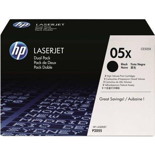 HP CE505XD (Dual Pack) - Toner czarny (black) podwójny o zwiększonej pojemności