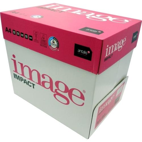 Papier do drukarek Image Impact A4, 80 g., biały, LG, ryza 500 ark.