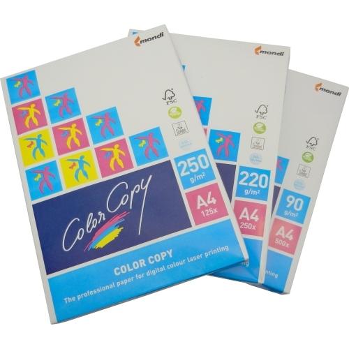 Papier do drukarek Color Copy A4, 90 g., biały, lekko satynowy, LG, ryza 500 ark.