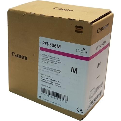 Canon PFI-306 PM - Wkład drukujący purpurowy fotograficzny (Photo Magenta)