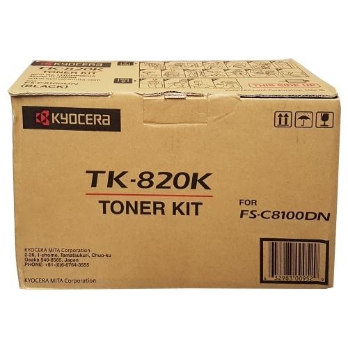 Kyocera TK-820K - Toner czarny (black)