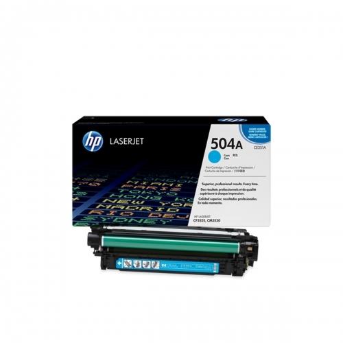 HP CE251A - Toner błękitny (cyan)