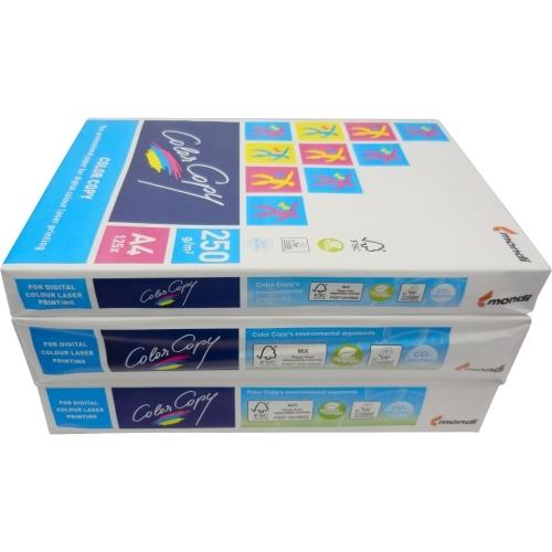 Papier do drukarek Color Copy A4, 220 g., biały, lekko satynowy, LG, ryza 250 ark.
