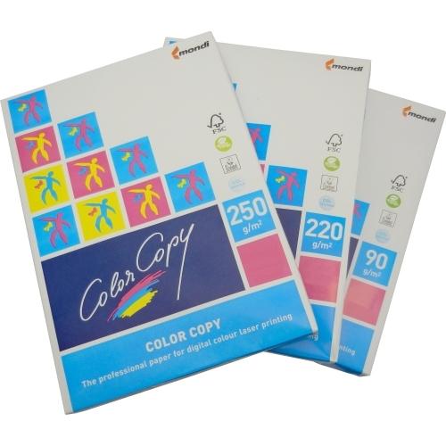 Papier do drukarek Color Copy A4, 160 g., biały, lekko satynowy, LG, ryza 250 ark.