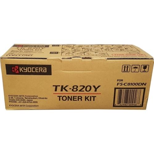 Kyocera TK-820Y - Toner żółty (Yellow)