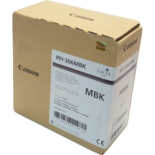 Canon PFI-306 MBK - Wkład drukujący czarny matowy (Matte Black)
