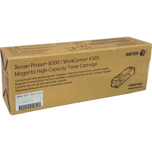Xerox 106R01602 - Toner purpurowy o zwiększonej wydajności (Magenta)