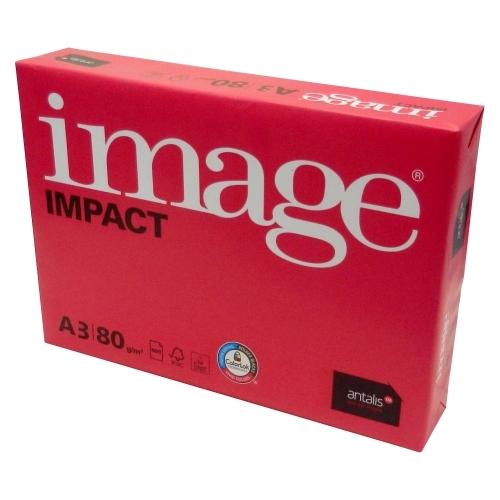 Papier do drukarki Image Impact A3, 80 g., biały, SG, ryza 500 ark.