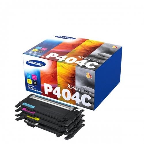Toner CLT-P406C do drukarek Samsung - pakiet 4 kolorów błękitny/purpurowy/żółty/czarny