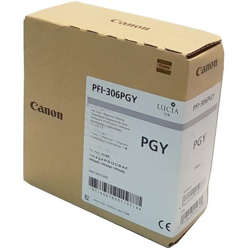 Canon PFI-306 PGY - Wkład drukujący szary fotograficzny (Photo Grey)